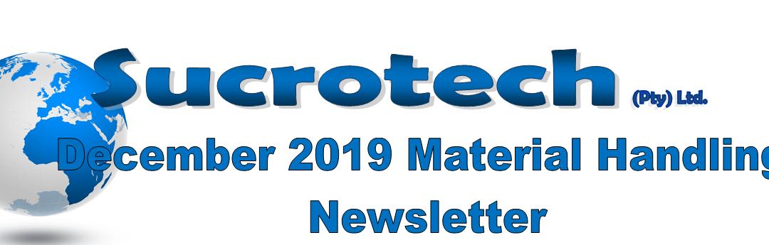 December 2019 Material Handling Newsletter